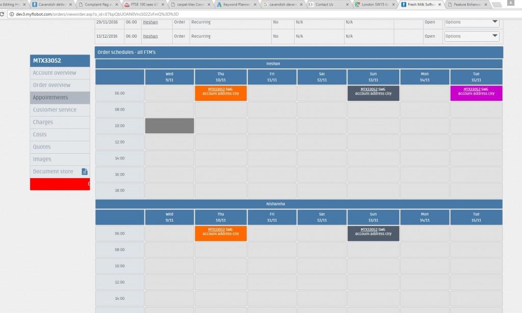 extra-schedule